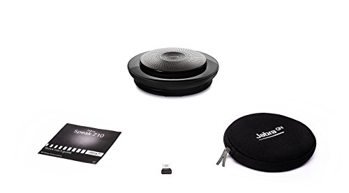 Jabra Speak 710 UC Wireless Bluetooth Speaker for Softphone and Mobile Phone – Easy Setup, Portable Speaker for Holding Meetings Anywhere with Immersive Sound, UC Optimized 6