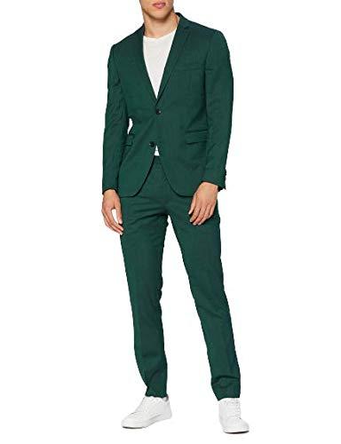 Esprit 090eo2m302 Ensemble de Pantalon de Costume d'affaires, Green (385/Bottle Green), 98 Homme