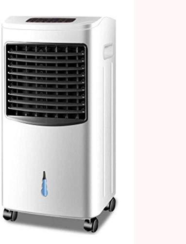 Home Bladloze Fan Huishoudelijke airco ventilator/mobile/met afstandsbediening/timing cooler/watergekoelde draagbare airconditioner ventilator huishoudens energiebesparende koelventilator (Gou