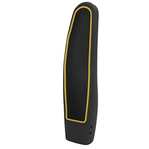 Shipenophy Material: Funda de Silicona para Control Remoto de TV para LG Control Remoto Anti-Impacto Anti-caída Que no bloquea los Infrarrojos para LG TV Remote Control(Black+Yellow)