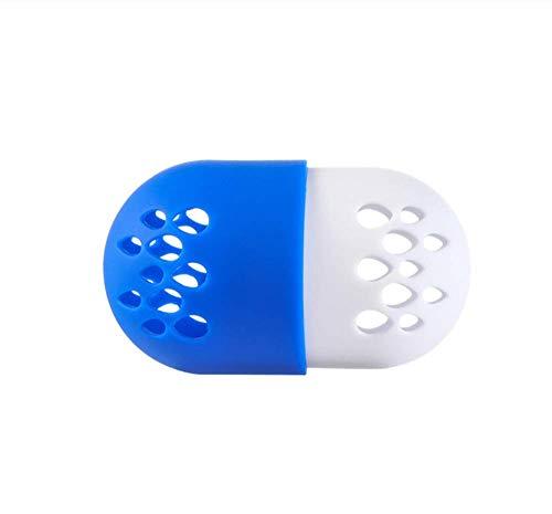 KUSAWE Éponge de maquillage 2 PCS Doux Silicone Poudre Puff Séchage Support Stand Beauté Pad Maquillage Éponge Présentoir Support Cosmétique Blender Éponge Cas Puff Holder R