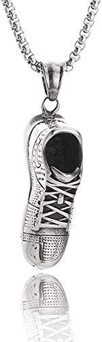 NC83 Klassische Persönlichkeit Modetrend Halskette Herren Schmuck Halskette Basketballschuhe Herren und Damen Titan Stahl Halskette Anhänger