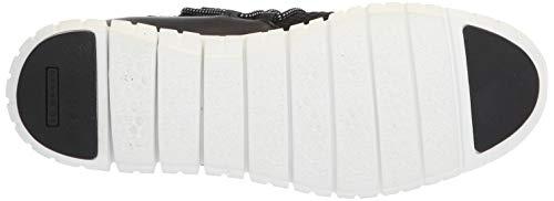 [コールハーン] 公式 ゼログランド キルテッド スニーカー womens W12369 ブラック ストレッチ/レザー/ホワイト 23.5 cm