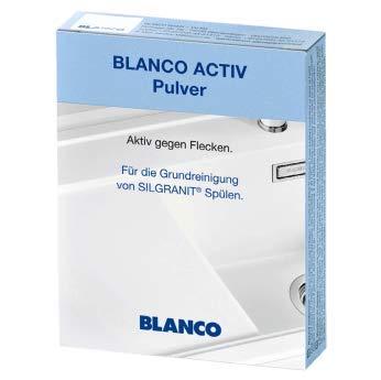 BLANCO Activ Pulver zur Reinigung von SILGRANIT Spülen, 3x 25g Pulver