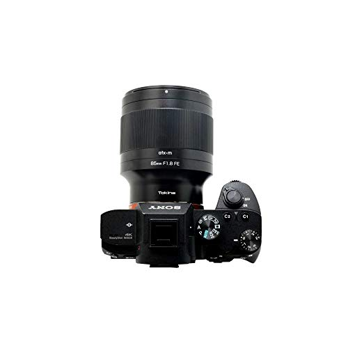 Tokina単焦点望遠レンズatx-m85mmF1.8FEソニーαE用フルサイズ対応634486