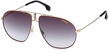 Carrera Bound/S Pilot Sunglasses Red Gold/Dark Gray Gradient 62 mm