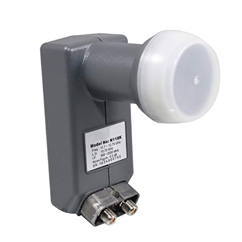 DSS922 DSS Dual LNBF for Anik F3 118.7 & 119 Satellite Dish