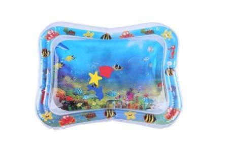 IMIKEYA Tapete inflável para brincar na água com almofada de atividades aquática para bebês bebês (estilo aleatório)
