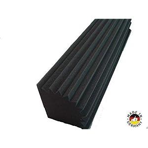 8 Bass Trap ca.100 x 20 x 20 akustisches Schalldämmung Bass-Trap Raumakustik Akustikschaumstoff Schall Absorber Schalldämmung