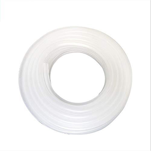 Gartenschlauch 4mm / 8mm / 10mm / 12mm weiche Silikon-Sauerstoff-Pumpenschlauch for Aquarium Luftblase Stein Aquarium Teichpumpe Schlauch PVC (Color : 1 Meter, Size : 12mm)