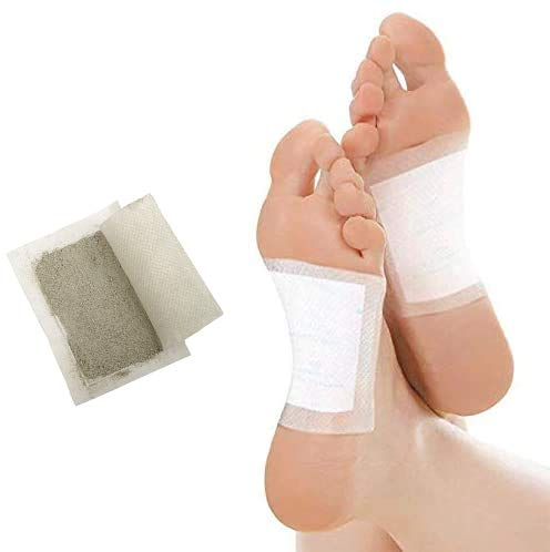100% Naturales Detox Foot Pads, Adelgazar Electrolisis Parches Para Pies, Eliminan Toxinas Cuerpo, Aceleran Metabolismo, Anti-Estres, Alivian Dolor, Mejoran SueñO,Pcs52 + 8 (Regalo)