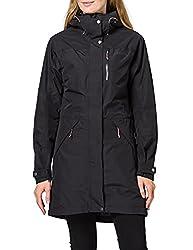 waterproof rain jacket for women with practical pockets