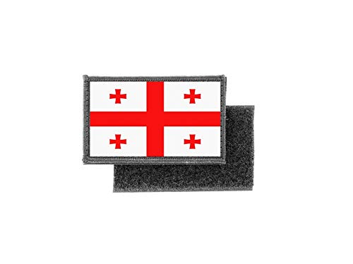 Aufnäher patch aufbügler gedruckt flagge fahne georgien