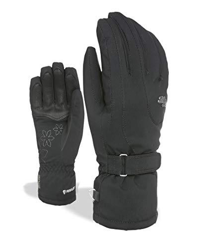 Level Damen Bliss Venus Handschuhe, Black, 7,5