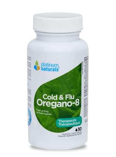 Platinum Naturals Oregano-8 Cold & Flu 30