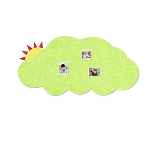 CShuiQing-Prevención del ruido Tableros De Anuncios De Corcho Para Paredes, Tableros De Fieltro De Fieltro Decorativo Tableros De Anuncios De Bricolaje Tableros De Fieltro Pare(Size:120*60CM,Color:#3)
