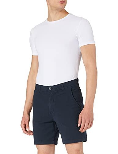 SELECTED HOMME Herren SLHSTORM Flex W NOOS Shorts, Dark Sapphire/Detail:Mix-Black, M