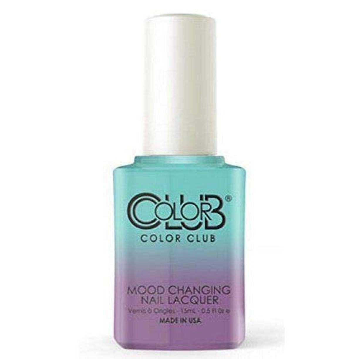 定期的女の子本会議Color Club Gel Polish - Serene Green - 0.5oz / 15ml
