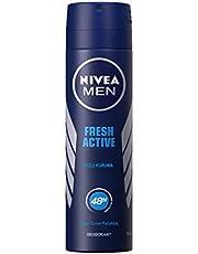 Nivea Fresh Sprey Deodorant Erkek, 150 ml