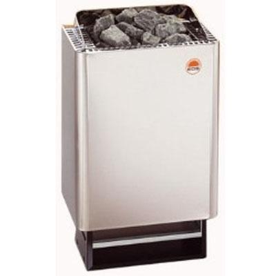 Eos 43.FN 6 kW Saunaofen Edelstahl für die Familiensauna inkl. 15 kg Steine