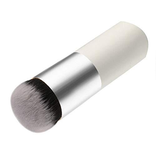 Gespout Pinceau de maquillage Femme Court Petit Facial Professionnel Maquillage Outils Blush (Blanc)