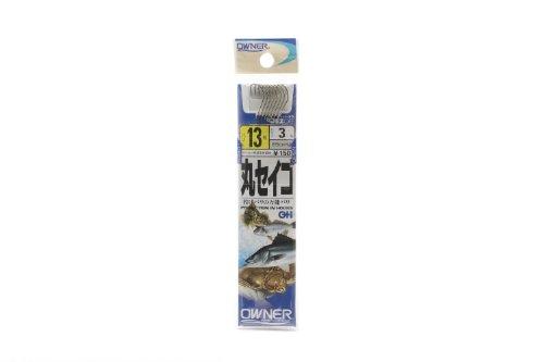 オーナー針 OH丸せいご(糸付) 白 13号-3 20607
