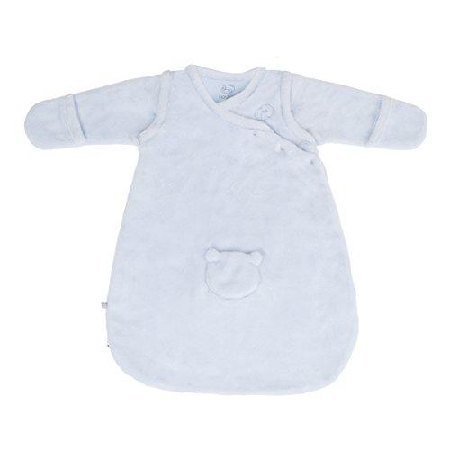 Noukie es Veloudoux de color azul bebé Diseño de capullos de bolsa de dormir y funda de 50 cm 2,2 - de la mezcla de cama de matrimonio de y la colección las cerillas de forma segura