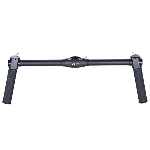 Zhiyun Dual palmare Grip supporto kit Crane Extended manico di con Andoer panno di pulizia appositamente per Zhiyun Crane/Zhiyun Crane M 3Axis Camera Gimbal Stabilizzatore