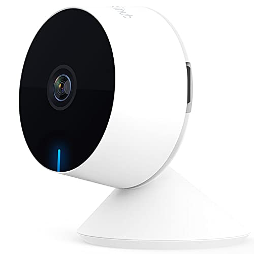 WiFi Baby Monitor, M1 Indoor Security Camera Two-Way Audio and Video, Night Vision,Motion & Sound Detection Multiple Video View for Baby/Elder/Pet, Work with Alexa