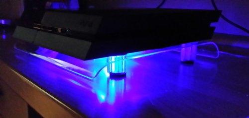 SM-PC® PS4 Kühler USB Design Cooler Lüfter 18cm Ständer passend für Playstation 4 Zubehör