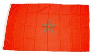FahnenMax drapeau maroc 90 x 150 cm