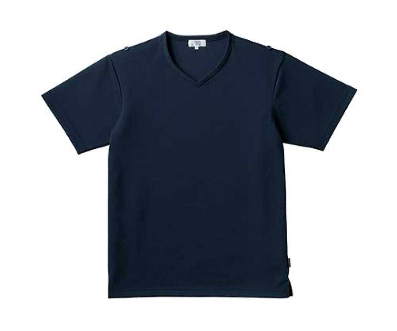 急性不測の事態不十分トンボ/KIRAKU 入浴介助用シャツ CR160 LL ネイビー