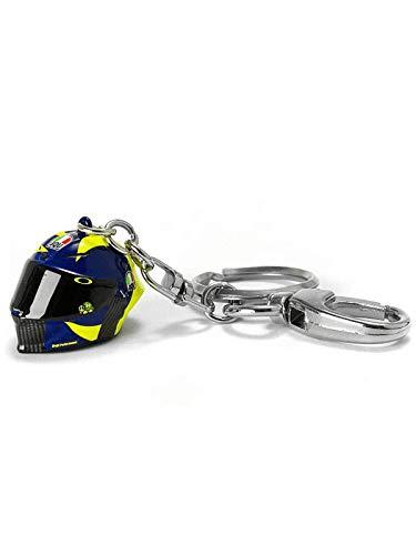 Valentino Rossi Vr46 Classic-Zubehör, Schlüsselanhänger Unisex Adult, Multicolor, 2, 2 x 2 cm