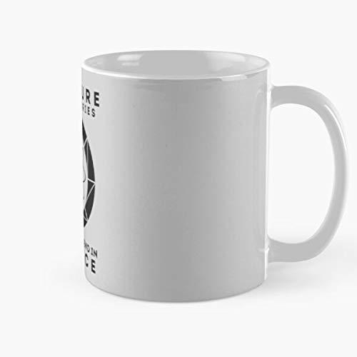 Shoprkcb Wheatley Valve Glados 2 Chell Aperture Science Portal Best 11 oz Kaffeebecher - Nespresso Tassen Kaffee Motive