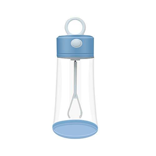 YOUANG - Taza de mezclador inteligente con botella eléctrica de proteína, tazas giratorias automáticas de coctelera de 400 ml para la proteína de café de leche de leche