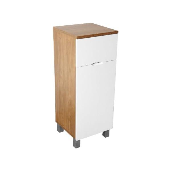 Premier Housewares – Armario Alto para baño, Color Blanco