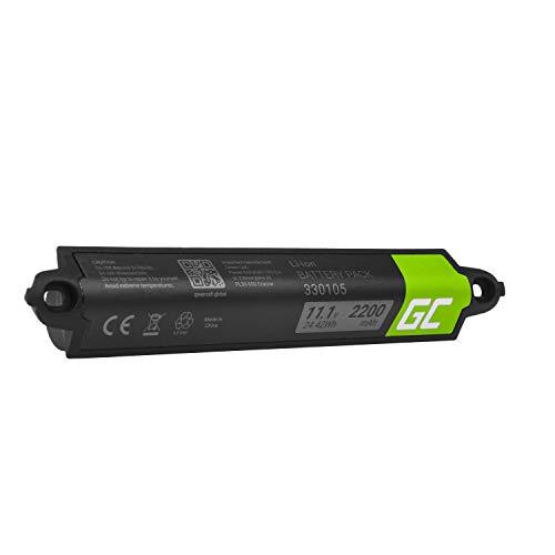 Green Cell ® 330105 330105A 330107 330107A 359495 359498 404600 404900 Akku, Batterie für Lautsprecher Bose SoundLink Bluetooth I II III 404600 414255 SoundTouch 20 (Li-Ion Zellen 2200mAh 11.1V)