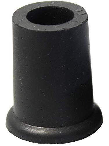 Gummipuffer f. Damenstock Gr. 0 16mm schwarz, Zubehör für Gehstöcke und Unterarmgehstützen