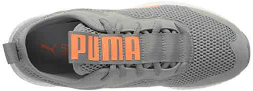 PUMA Nrgy Neko Skim Wns, Zapatillas de Running Mujer, Gris (High Rise/Fizzy Orange), 41 EU