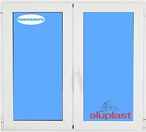 (V03T) Finestra PVC 1000x1000 oscillante 2 fogli Bianco