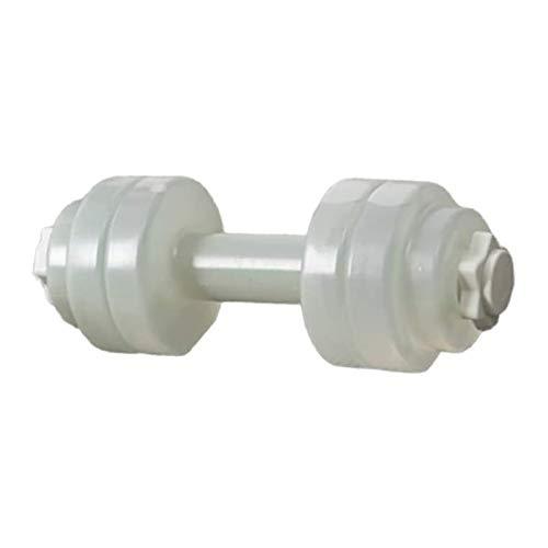 SASCD Pesma de Mancuernas de Agua portátil Pesma de Pesas Gimnasio Equipo de Gimnasio Yoga Mancuerna para Entrenamiento Equipo de Ejercicio Deportivo (Color : Gray)