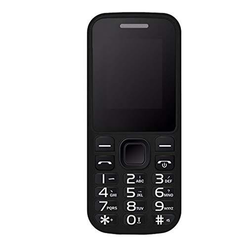 Teléfono móvil para personas mayores, Dual SIM, teléfono móvil con tecla de emergencia, teclas grandes, GSM, gran pantalla a color iluminada, tamaño de la pantalla ajustable.