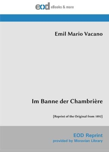 Im Banne der Chambrière: [Reprint of the Original from 1892]