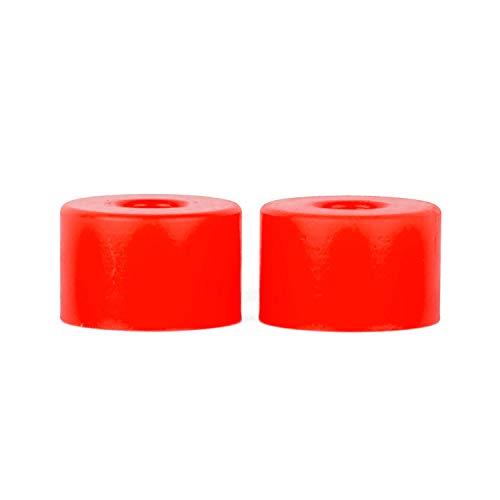 Riptide Bushings APS Double Barrel Longboard Lenkgummis 80A - 95A Verschiedene Härten (95A red - Hard)