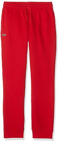 Lacoste Sport Jungen XJ9476 Sporthose, Rot (Rouge), 8 Jahre (Herstellergröße: 8A)