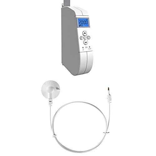 WIR elektronik, eWickler Comfort, eW920-m, elektrischer Gurtwickler für 15mm Gurtband + WIR elektronik Sonnen/Dämmerungssensor, 1 m, weiß