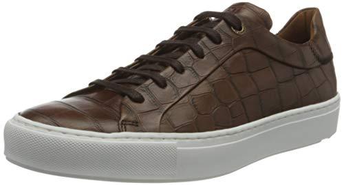 LLOYD Herren ARVINO Sneaker, Cognac, 42.5 EU