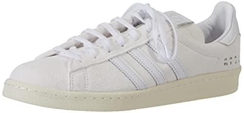adidas Campus 80s, Zapatillas Deportivas Hombre, Supplier Colour FTWR White Off White, 43 1/3 EU