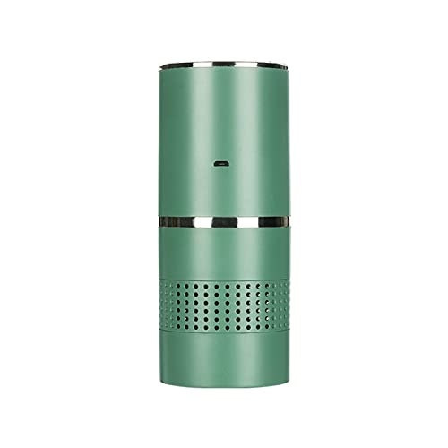 Filtros De Purificadores De Aire Portátiles Purificadores De Escritorio Compactos Mini Limpiador De Aire USB Ozonizer Air For Home Office Dropship (Color : Green)
