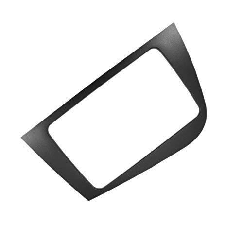 SHOUNAO 2 DIN Frame DVD Navigation Panel De Audio Ajuste para Seat Leon 2005-2012 (RHD) Kit De Ajuste del Panel De La Radio De La Radio De La Radio (Color Name : Gray)